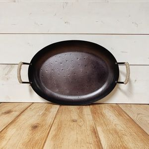 Threshold Accents - 🏡 Threshold Farmhouse Metal Serving Tray